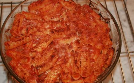 Cannelloni gratinati