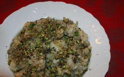 Cavolfiore con pistacchi